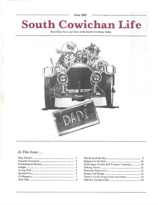 South Cowichan Life June 2001
