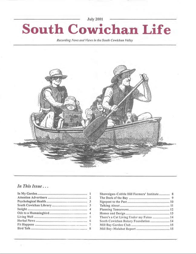 South Cowichan Life July 2001